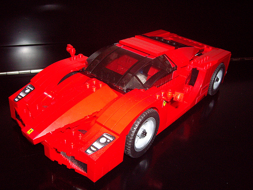 Enzo Ferrari (Lego Racers 8652-1)