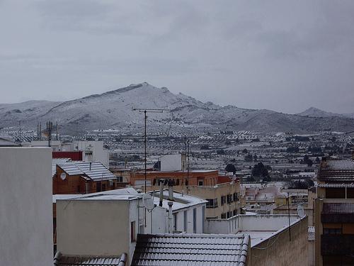 Nieve - Tejados
