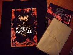 El Fuego - Paquete y bolsa