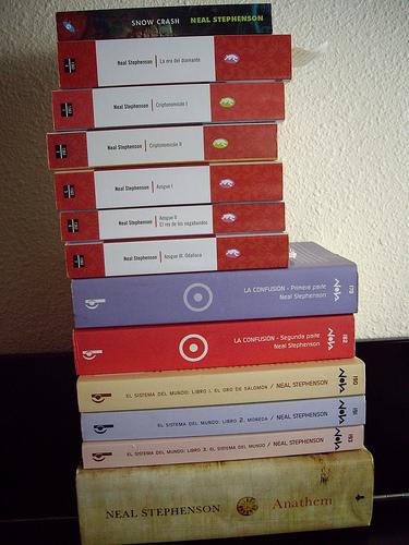 Colección Neal Stephenson