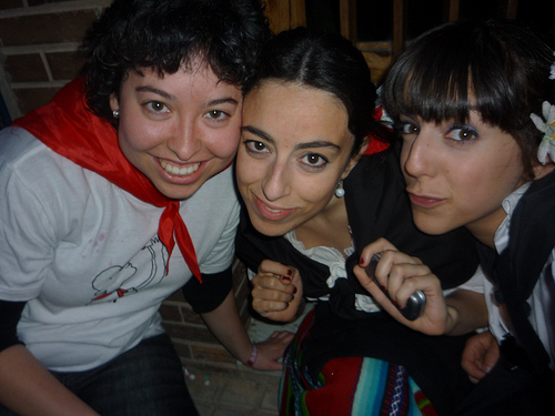 María, Chu y yo