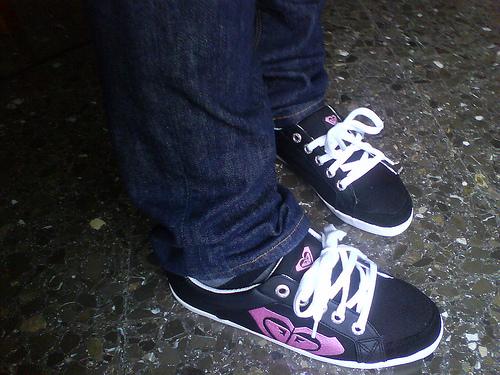 Mis nuevas zapatillas