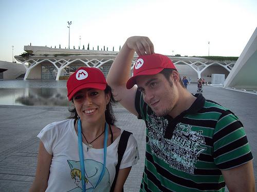 Mario Girl & Santi Kong