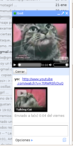 youtube en gmail