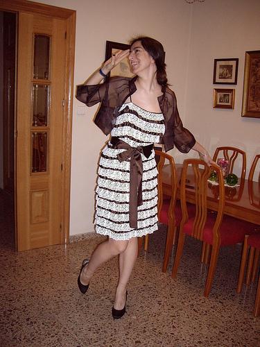 Vestido Tintoretto