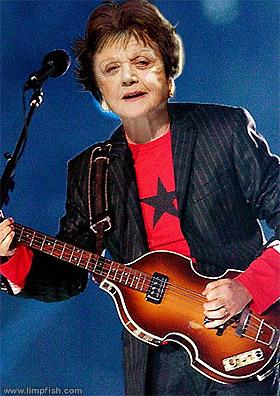 Angela Lansbury McCartney xD