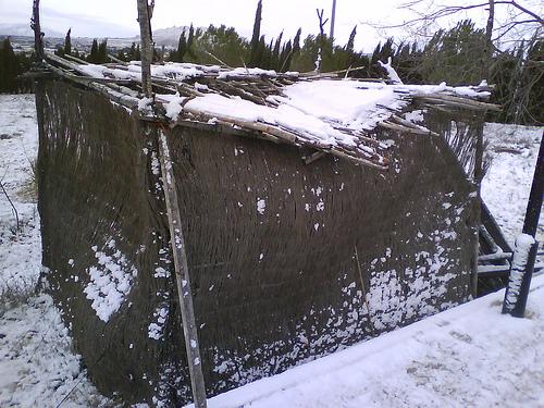 Nieve - Cabaña