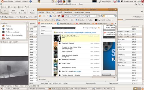Lastfm, ubuntu y wmp