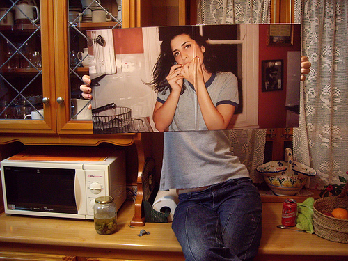Sleeveface (Amy Winehouse)